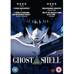 Ghost in the Shell (15) DVD