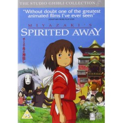 Spirited Away (PG) DVD